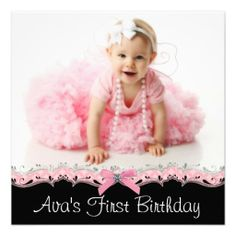 ==> consumer reviews          	Pink Black Girls Photo 1st Birthday Party Announcement           	Pink Black Girls Photo 1st Birthday Party Announcement We have the best promotion for you and if you are interested in the related item or need more information reviews from the x customer who are ow...Cleck Hot Deals >>> http://www.zazzle.com/pink_black_girls_photo_1st_birthday_party_invitation-161711833713925501?rf=238627982471231924&zbar=1&tc=terrest