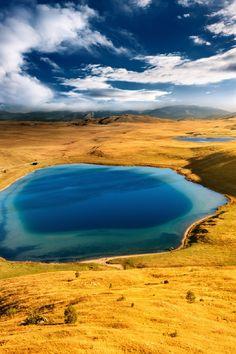 Vrazje jezero (Devil's Lake) and Riblje jezero (Fish Lake) in Durmitor National Park, Montenegro.