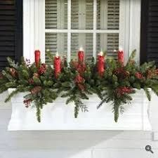 Image result for window boxes for winter