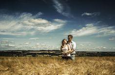 Sunshine and hay.
