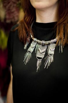 topshop tribal necklace.