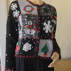 Ugly Christmas Sweater sure to be a winner by VicsVintageCloset