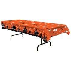 haunted themed tablecover in charlotte nc balloon and party service - Halloween Haunted Houses Charlotte Nc