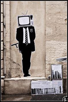 Al Sticking - street art