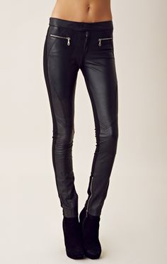 Shakuhachi Leather Pants $338
