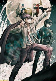 Kaito, Shuuichi, Monokid, & Monotaro | Danganronpa V3