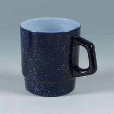 Fire-King Stacking Mug [Granite] Navy ¥ 3,360
