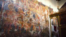 Giorno#5  - Gli Affreschi Bizantini del Monastero di Agia Paraskevi #Vikos