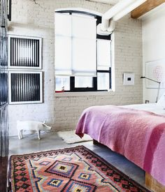 Apartment 34 | This is Very Pinteresting {Kilim Rugs}