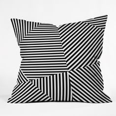 Three Of The Possessed Dazzle New York Outdoor Throw Pillow | Deny Designs