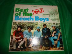 Best of The Beach Boys Vol 2 vintage music record find me at www.dandeepop.com