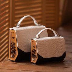 f4c27f788f59 Fashion Handbag Evening Shoulder Crosbody Genuine Leather Top Handle Bag  FJORD Python Embossed with Модные Сумки