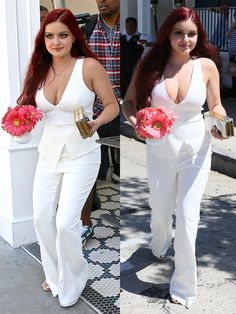 Ariel Winter leaving Glamour magazine's Game Changers Lunch held at Au Fudge in West Hollywood, California, on April 20, 2016