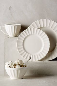 Latte Dinnerware Set - anthropologie.eu