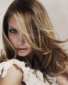 highlights are subtle  layers kept long, love it.
