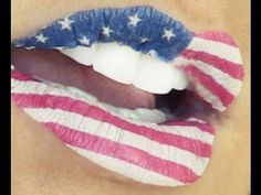 4th of July & Flag Lips | Kandee Johnson - http://47beauty.com/4th-of-july-flag-lips-kandee-johnson/  				 CLICK IT OR TICKET:  http://www.kandeej.com my FACEBOOK: http://www.facebook.com/kandeethemakeupartist  TWITTER: http://www.twitter.com/kandeejohnson My personal BLOGGY: http://www.kandeeland.com My other youtube channel: http://www.youtube.com/thekandeejohnsonshow HAPPY FOURTH OF JULY MAKE-UP TUTORIAL, FASHION HAUL, 4TH OF JULY STYLE (that is) AND SO MUCH FUNNY I
