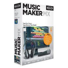 MAGIX Music Maker MX, (home studio, music recording software) For Georgia Recorder Music, Music Guitar, Ukulele, My Music, Home Studio Equipment, Dj Equipment, Vintage Drums, Home Studio Music, Press Kit