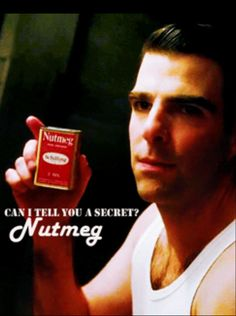 """Zachary Quinto as Dr.Thredson.  """"Nutmeg makes all the difference"""". American Horror Story Season 2: Asylum"""