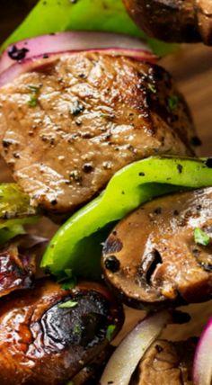 Easy Grilled Steakhouse Kebabs