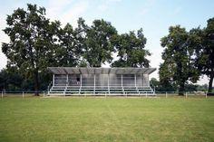 Tribuna fotbalového hřiště TJ Sokol, Záryby © Caraa.cz