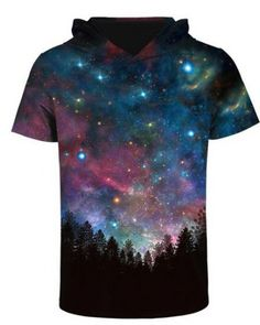 OUTER SPACE TOP SOLAR SYSTEM GALAXY PLANETS FANTASY TIE DYE T TEE SHIRT M-2XL