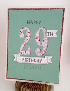 Stampin' Up Number of Years from the Occasions 2016 Catalog. Katrina Martinez