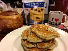 SweetStacks Blueberry Gourmet Pancakes: