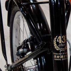 Bicicleta dobrável Órbita Eurobici   Special edition 43 years Folding bike