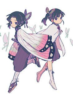 Kimetsu no yaiba ( demon slayer ) Anime Chibi, Manga Anime, Kawaii Anime, Anime Angel, Anime Demon, Demon Slayer, Slayer Anime, Fan Art, Cute Chibi