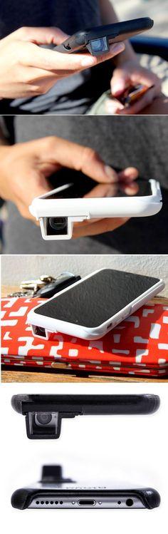 Sliding Camera Lens iPhone Case #iphonecameralens