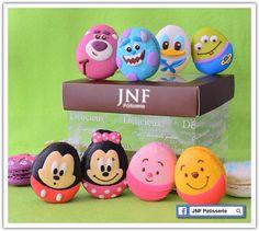Easter idea. Easter egg macaron. ❤️ Disney