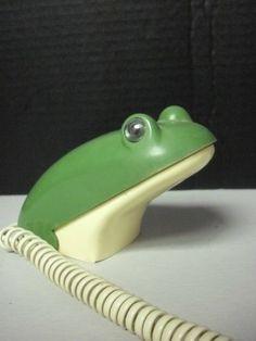 Novelty Vintage Frog Phone | eBay