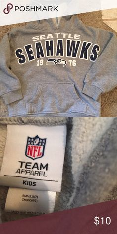 Kids Seattle Seahawks hoodie youth size small EUC go Hawks! Nike Shirts & Tops Sweatshirts & Hoodies
