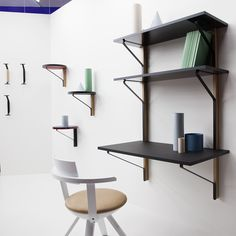 The newest additions of the Kaari collection by Ronan and Erwan Bouroullec for Artek