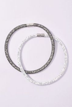 Buy Neutral Sparkle Mesh Necklace Two Pack from the Next UK online shop