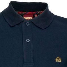 87830b5e3 Merc Banks Navelette Polo $64.00 Detailed Description (2 button, Navy Polo,  100% Cotton)