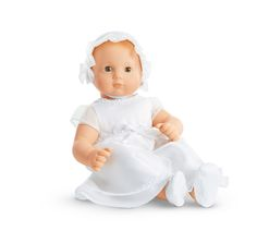 Bitty's Gown & Bonnet for Dolls