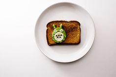 totoro avocado toast - www.iamafoodblog.com
