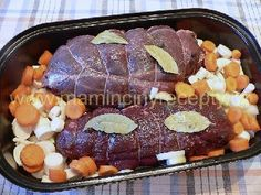 Srnčí na smetaně Sausage, Steak, Cooking, Food, Kitchen, Sausages, Essen, Steaks, Meals