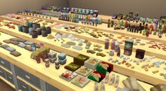 Food & Pantry Clutter Mega Set – BrazenLotus' Place