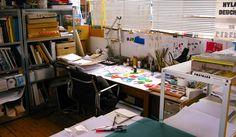 my artist home office - Google Search