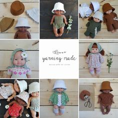 The new doll collection will go live Friday July 31st at 9am PT! So very excited and hope you will love it all! New Dolls, Marketing And Advertising, Hand Knitting, Trending Outfits, Handmade Gifts, Crochet Hats, Friday, Live, Etsy