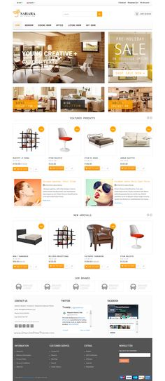 Saharan is an modern & well structured 50 in 1 #Opencart theme for multipurpose eCommerce website with 16 fashion, 11 digital, 6 #decor, 8 sports, 4 accessories and 4+ miscellaneous online shop homepage layouts download now➯ https://themeforest.net/item/saharan-the-biggest-multipurpose-responsive-opencart-theme/17407716?ref=Datasata