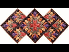 ▶ Cleopatra's Fan quilt video by Shar Jorgenson - YouTube: free pattern @ ....http://www.robertkaufman.com/quilting/quilts_patterns/cleopatras_fan/