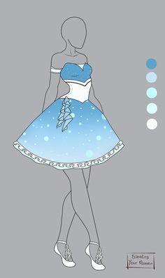Outfit Design Auction #1 [Closed] by StealingYourRamen.deviantart.com on @deviantART