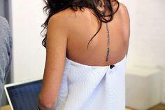 Natasha Goldenberg tattoo.