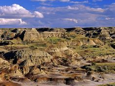 size: Photographic Print: Badlands at Dinosaur Provincial Park in Alberta, Canada by Chuck Haney : Artists Alberta Canada, Find Art, Framed Artwork, Grand Canyon, Beautiful Pictures, World, Artist, Poster, Travel