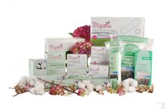 Maxim Hygiene Tampons, Pantiliners and Pads ($4.95 to $7.55) are organic cotton, no petrochemicals