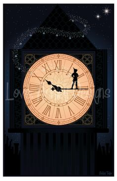"loveashleydesigns: ""Peter Pan illustration I did today! Follow me on twitter for more design updates: ashley24taylor or email LoveAshleyDesigns@gmail.com for custom commissions :) Visit my Etsy shop..."