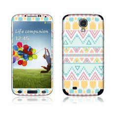 Aztec Blue skin iPhone 4/5, Samsung Galaxy S2/S3/S4 - PhoneGeek.nl